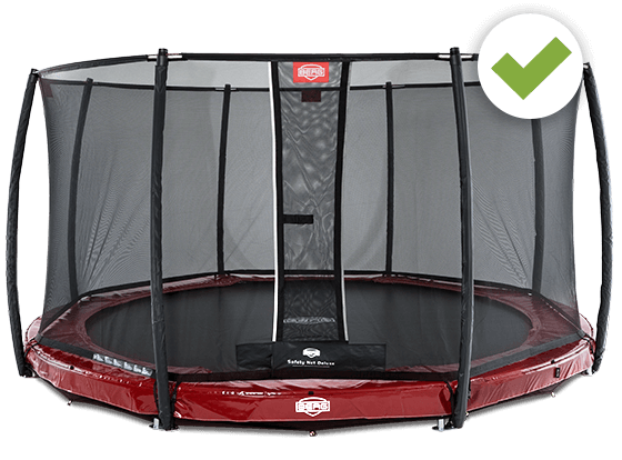 BERG Safety Net Deluxe - Kauftipp auf trampolin-profi.de
