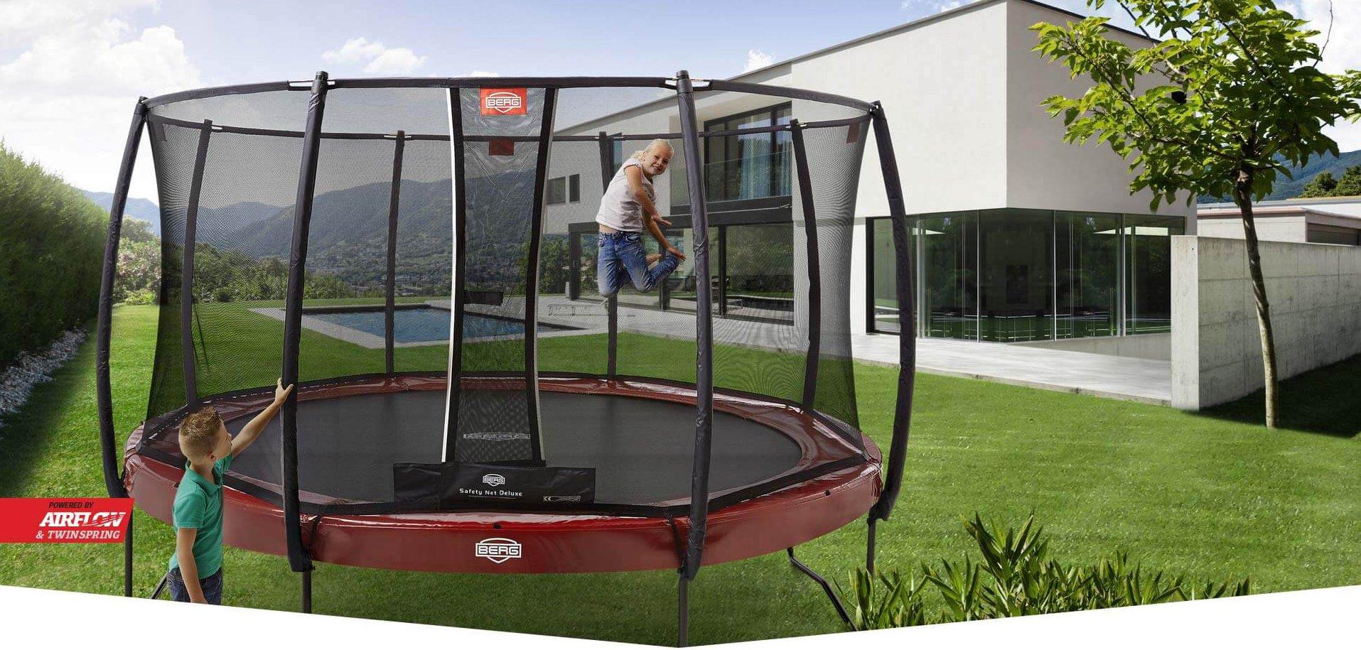 Jahresrückblick 2018: Trampolin Komplettset von trampolin-profi.de