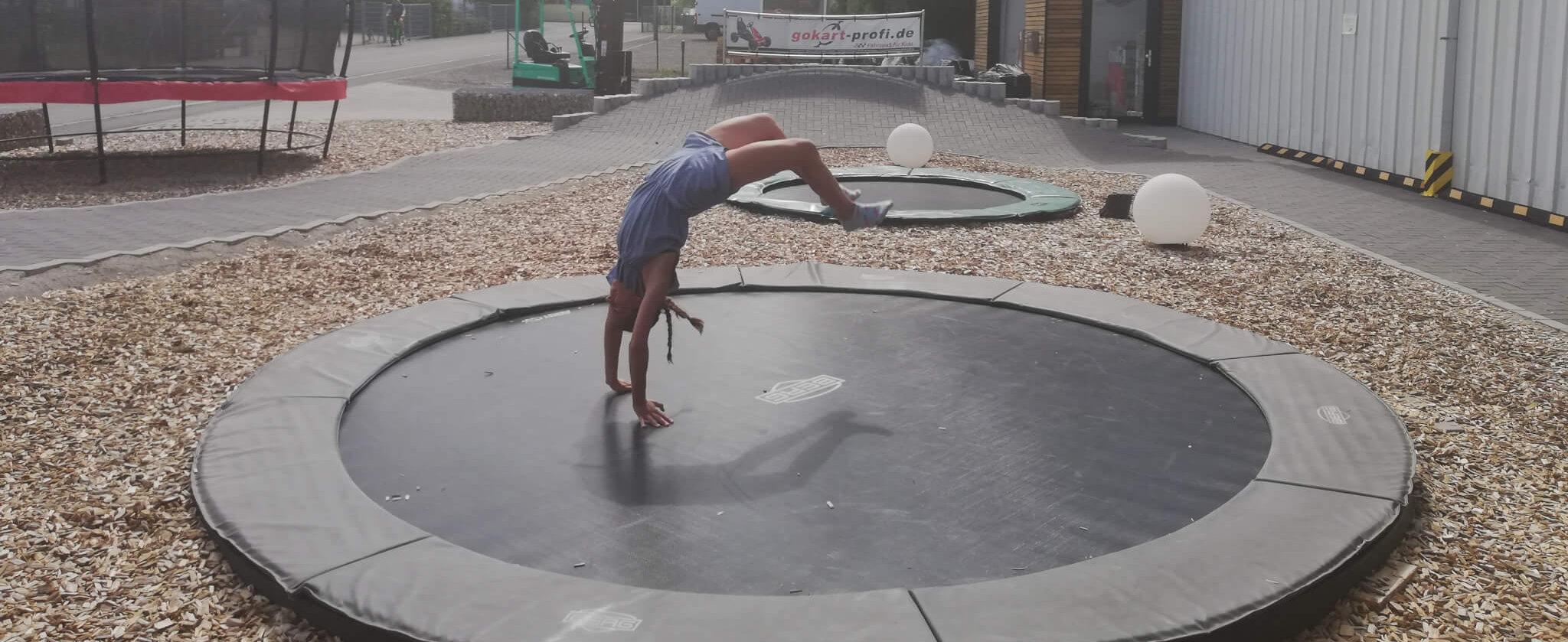 Der ultimative Trampolin Check in unserer Ausstellung - trampolin-profi.de
