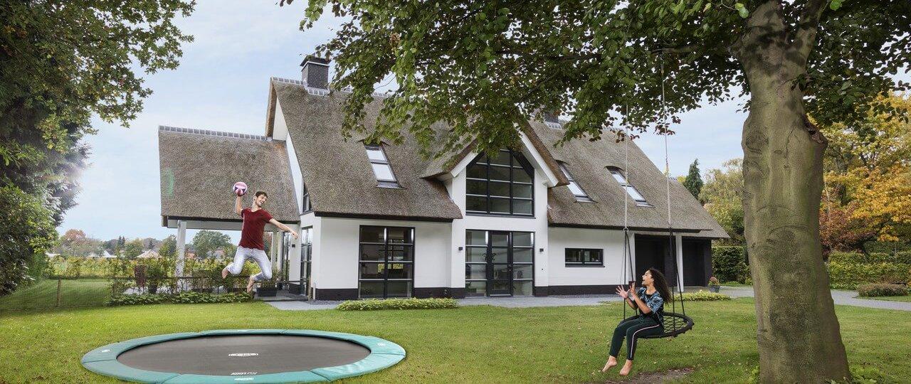 ebenerdige Trampoline kaufen auf trampolin-profi.de - beste Auswahl