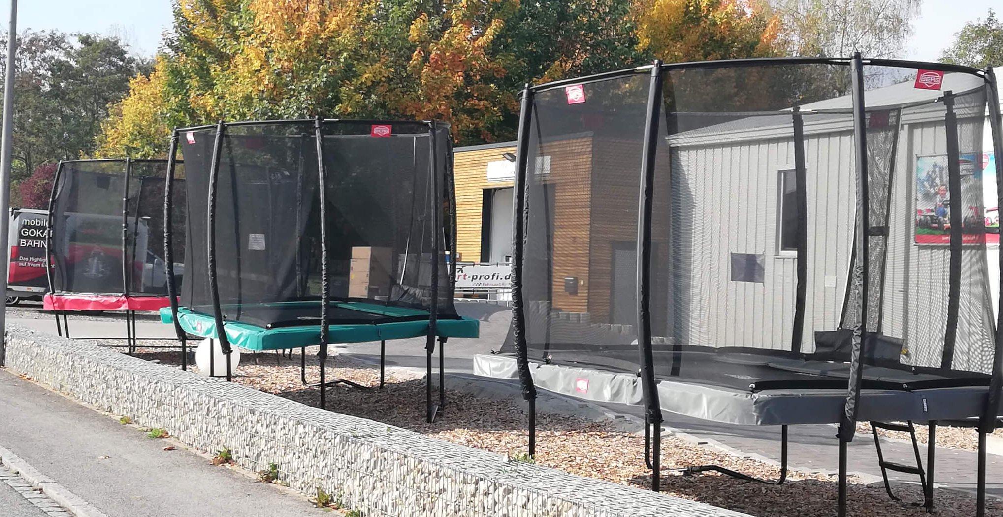 Trampolin Ausstellungsstücke kaufen bei trampolin-profi.de Oktober 2018