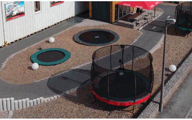 Jahresrückblick 2018 trampolin-profi.de: EXIT Elegant und BERG Airflow in der Ausstellung