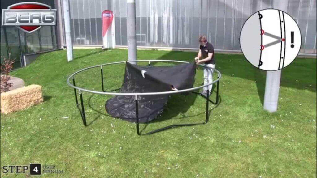 Trampolin Abbau - Anleitung von trampolin-profi.de