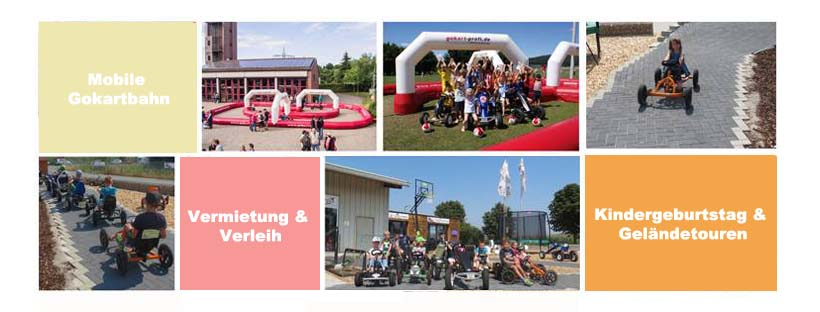 Kindergeburtstage mit Kettcar & Co. - trampolin-profi.de