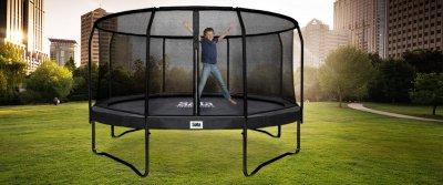 Salta Trampolin Premium Black Edition - Adventsaktion 2018 trampolin-profi.de