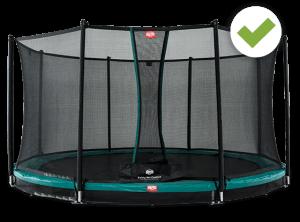 Trampolin Total - Sicherheitsnetz Auswahl - BERG Toys - trampolin-profi.de