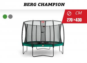 Trampolin Total - Tipp BERG Champion - trampolin-profi.de