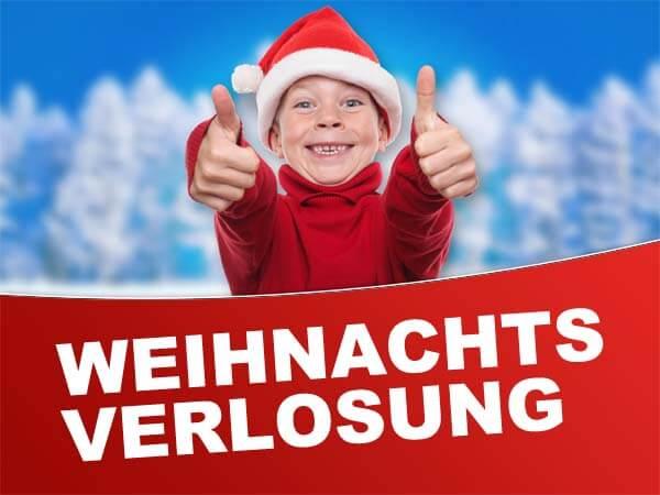 Weihnachtsverlosung auf trampolin-profi.de