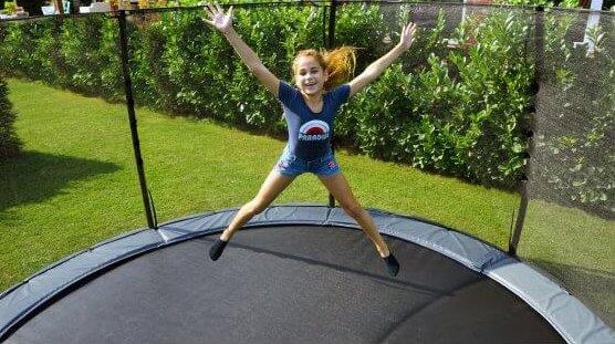 New Collection: das EXIT Elegant Ground Trampolin ist da - trampolin-profi.de