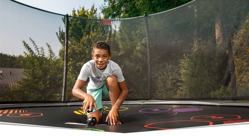 BERG Trampolin Neuheiten 2019 live von der Spielwarenmesse - trampolin-profi.de - BERG Levels Game