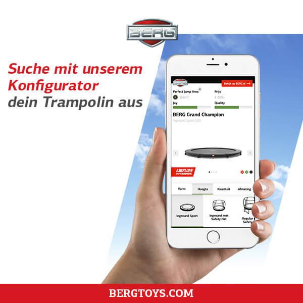 Trampolin Finder für die fitte Familie bei trampolin-profi.de