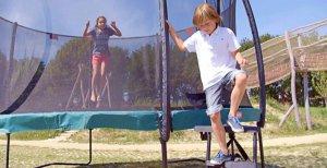 BERG Trampolin Leiter mit Plattform - kaufen auf trampolin-profi.de
