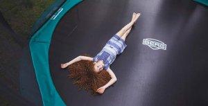Trampolin für Kinder: Trampolindurchmesser ab 3 m ist ideal