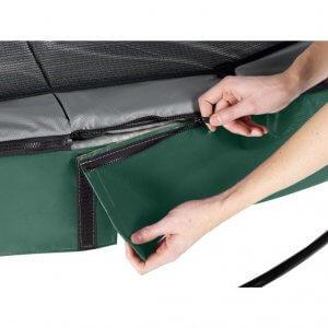 SALTA Premium Black Edition Trampolin Test - trampolin-profi.de - Vergleich EXIT Elegant Trampolin