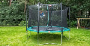 Technische Daten EXIT Trampolin - SALTA Premium Black Edition Trampolin Test - trampolin-profi.de