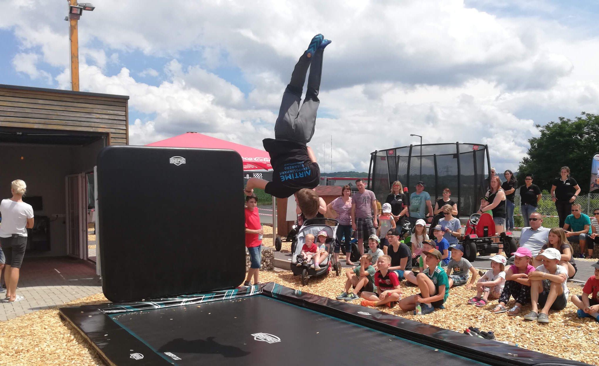 BERG Experience Day - Rückblick - Event 2019 bei trampolin-profi.de