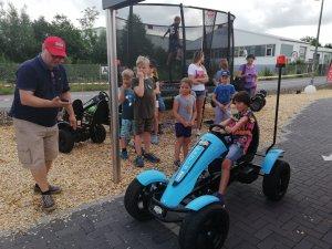BERG Experience Day - Rückblick - E-Gokart Rennen trampolin-profi.de