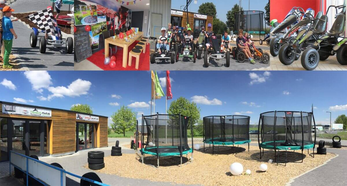 Trampolin Ausstellung trampolin-profi.de - Location auch für Kindergeburtstage