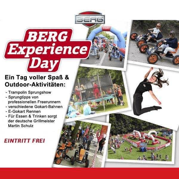 BERG Experience Day - 21.06.2019 bei trampolin-profi.de