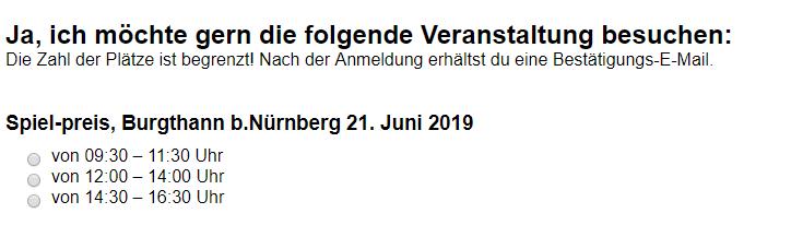 BERG EXPERIENCE DAY am 21.06.2019 bei SPIEL-PREIS - trampolin-profi.de Nürnberg-Burgthann