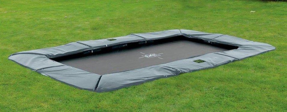 EXIT Supreme Ground Level - FlatGround Outdoor Trampolin bei trampolin-profi.de