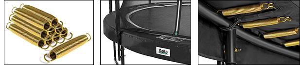 SALTA Premium Black Edition Trampolin Test - trampolin-profi.de
