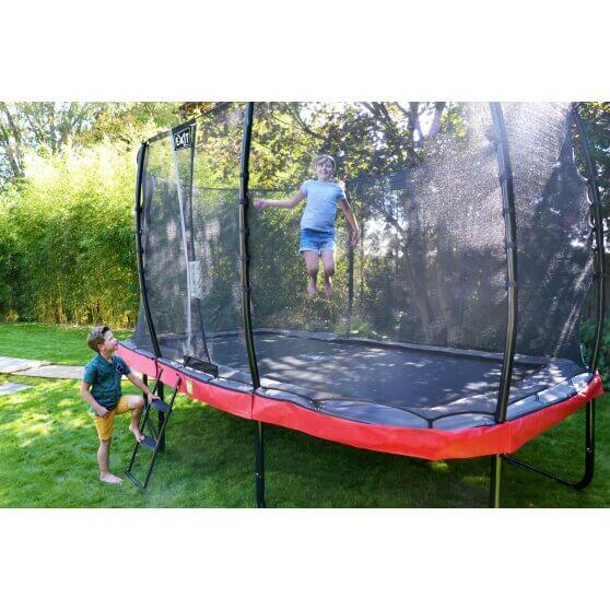 EXIT Elegant Premium Trampolin mit Pulverbeschichtung - kaufen auf trampolin-profi.de