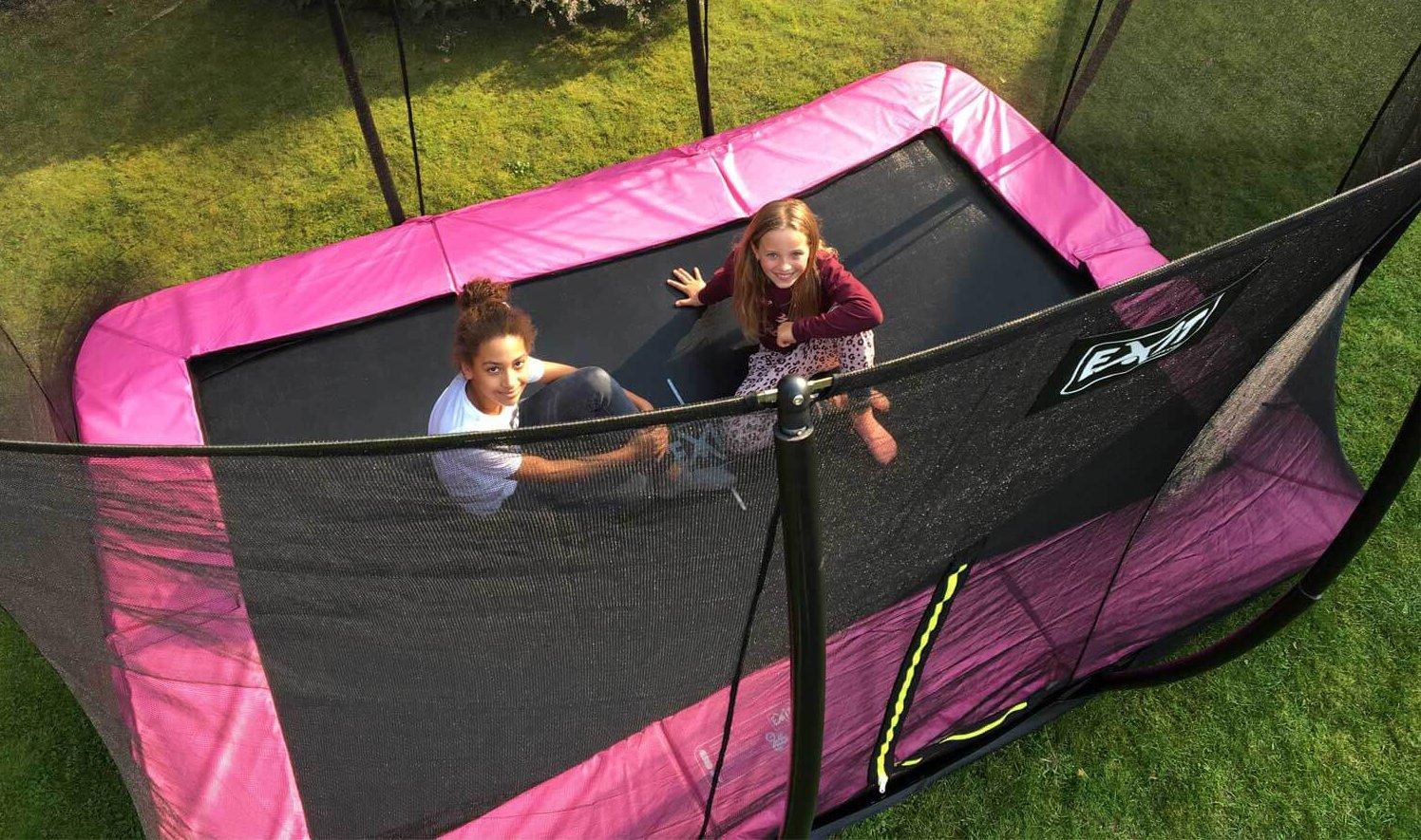EXIT Silhouette Bodentrampolin – unser AUGUST Einkauftipp - trampolin-profi.de