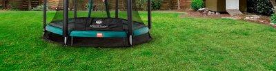 Mein Trampolin bei Wind und Wetter: ans Ankerset denken - Tipps von TRAMPOLIN PROFI