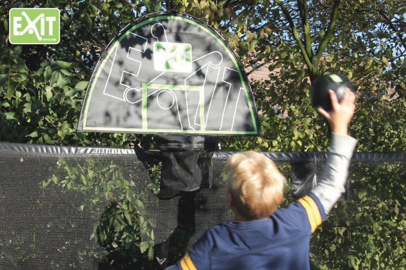 Basketball spielen auf dem Gartentrampolin - so geht´s - Tipps TRAMPOLIN PROFI
