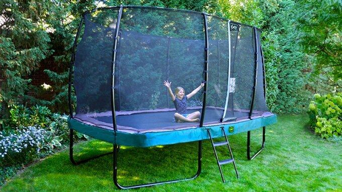 Trampolin im Garten - Top Auswahl trampolin-profi.de