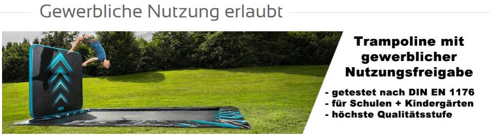 TRAMPOLIN PROFI: wir haben Trampoline auch für die gewerbliche Nutzung