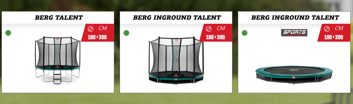 BERG-Trampolin-Aktion - BERG Talent - trampolin-profi.de
