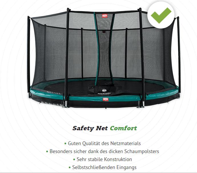 Berg Favorit Sicherheitsnetz - trampolin-profi.de