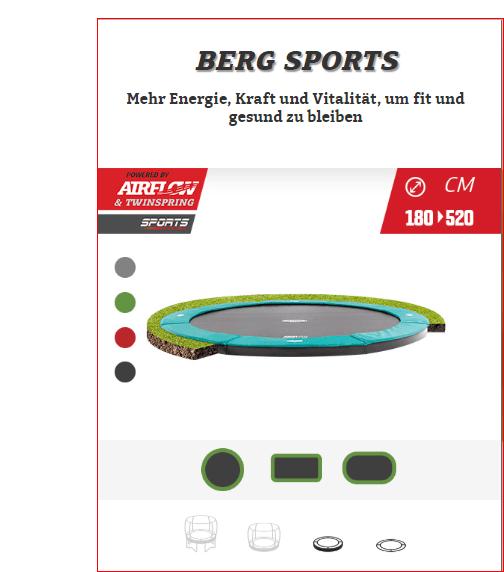 BERG Sport Flatground - kaufen auf trampolin-profi.de