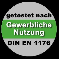 Gewerbliche Nutzung - DIN EN 1176 - trampolin-profi.de