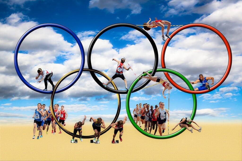 Trampolin Geschichte - seit 2000 sogar olympische Sportart - trampolin-profi.de
