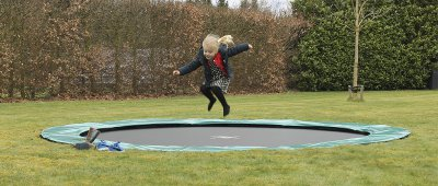 EXIT Trampolin - Trampolin Qualität in Bronze/Silber + Gold - trampolin-profi.de
