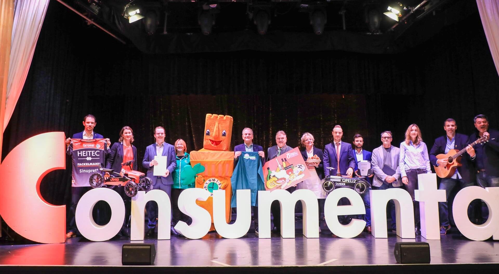 Consumenta 2019 - Pressekonferenz - Inge Schwanewede Fa. Spiel-Preis
