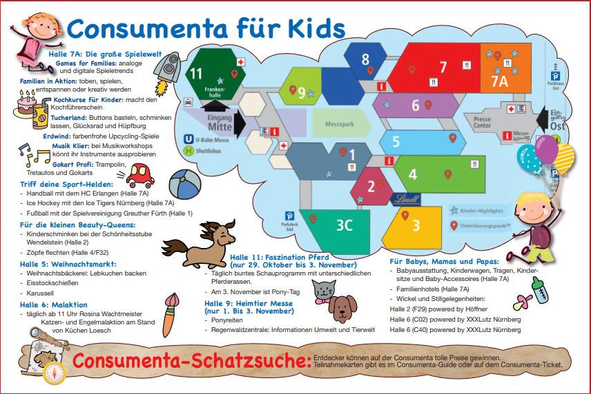 Consumenta für Kids - wir sind in Halle 7 A - Stand C 20