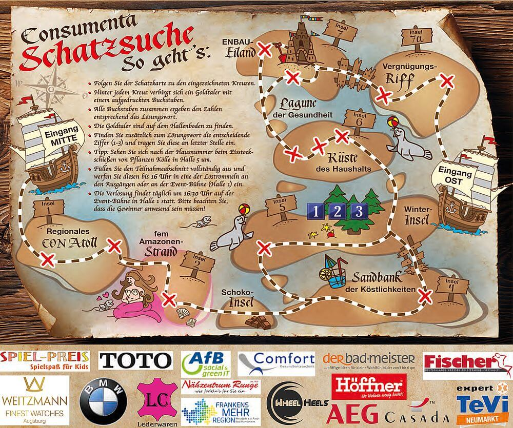 Consumenta Schatzsuche: Hauptpreis von TRAMPOLIN PROFI BERG Grand Champion Trampolin