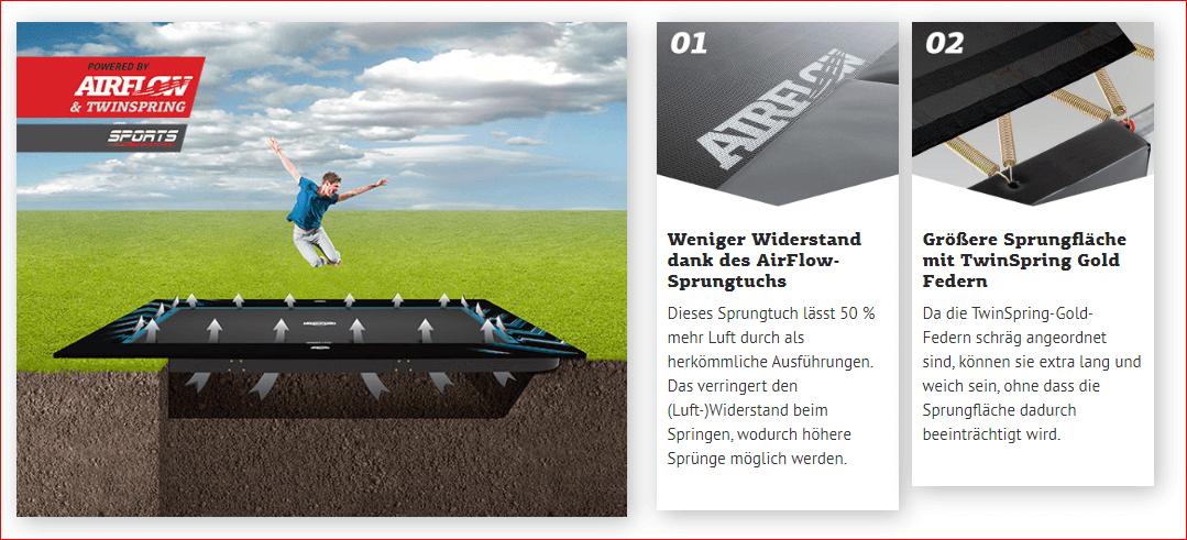 BERG Ultim Elite FlatGround - überzeugt auf der ganzen Linie - trampolin-profi.de