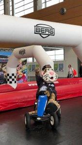 Pucky - Ice Tigers - bei trampolin-profi.de - Consumenta 2019