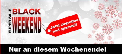 Black Weekend auf trampolin-profi.de