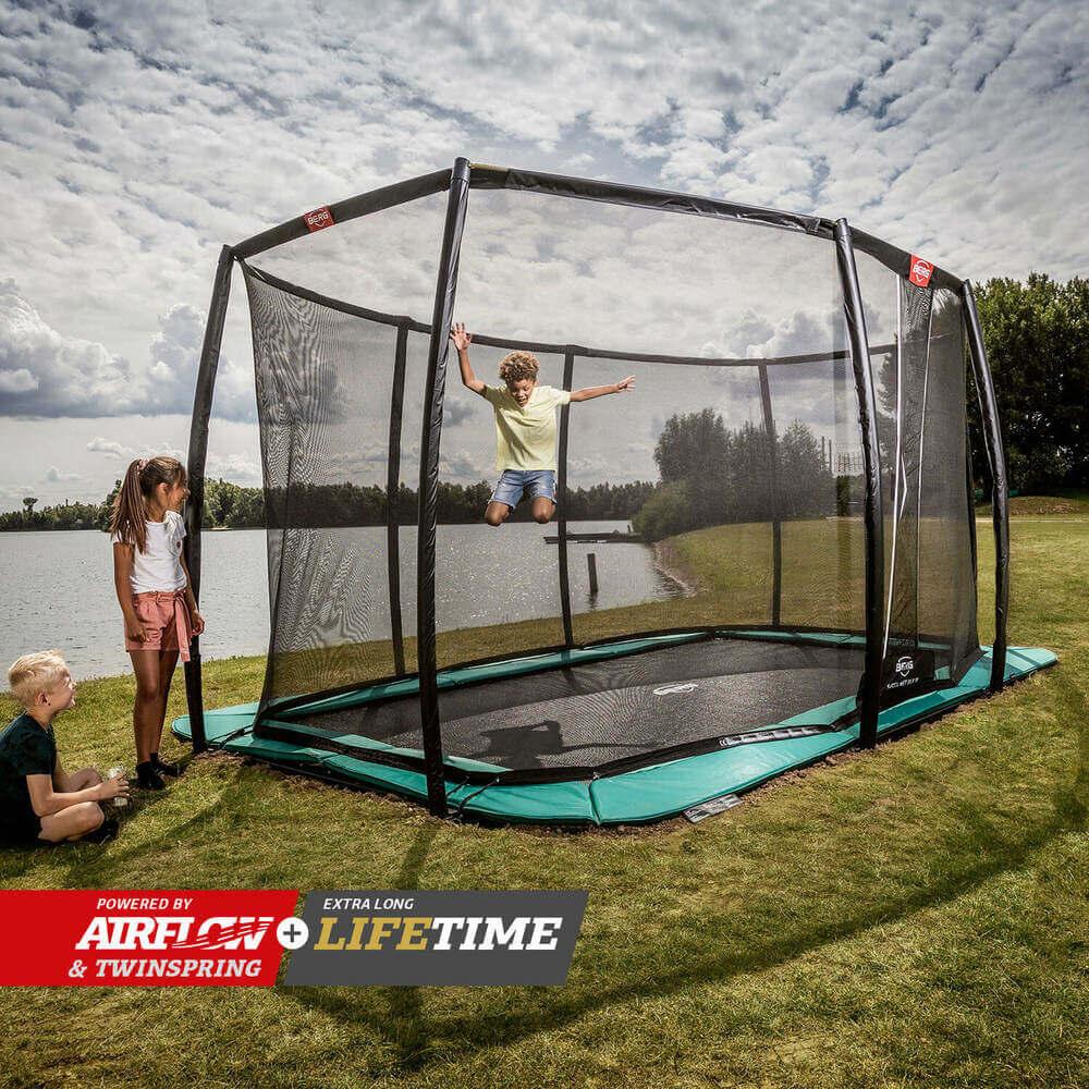 Berg Trampolin kaufen - trampolin-profi.de