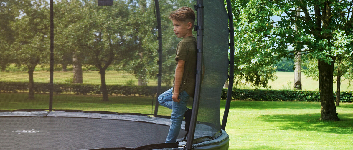 EXIT Trampoline sorgen für Spaß im Garten - Beratung trampolin-profi.de