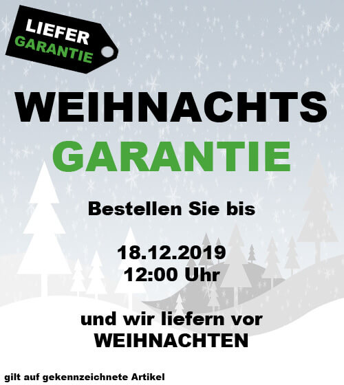 Weihnachtsgarantie bei trampolin-profi.de