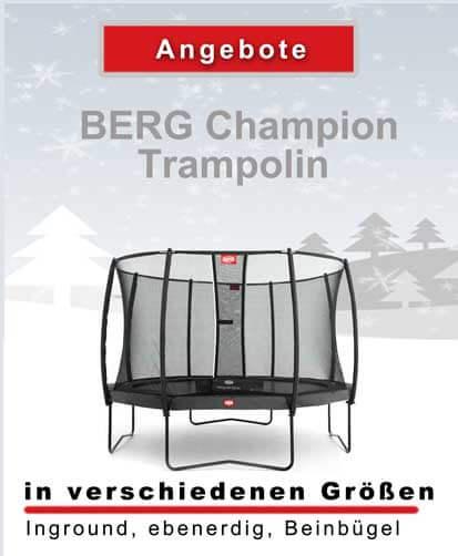BERG Champion - Weihnachtsangebote - trampolin-profi.de