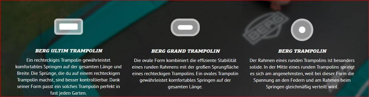TRAMPOLIN PROFI Weihnachtsaktion: BERG Champion