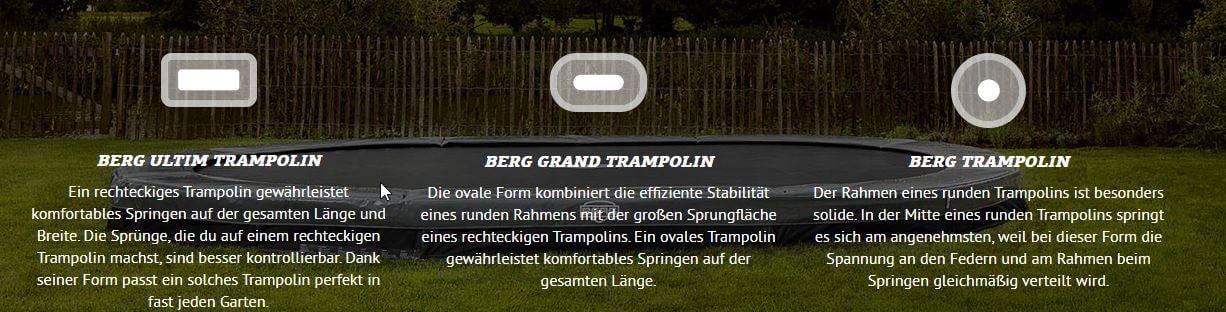 Warum ein BERG-Trampolin kaufen? - Ratgeber trampolin-profi.de